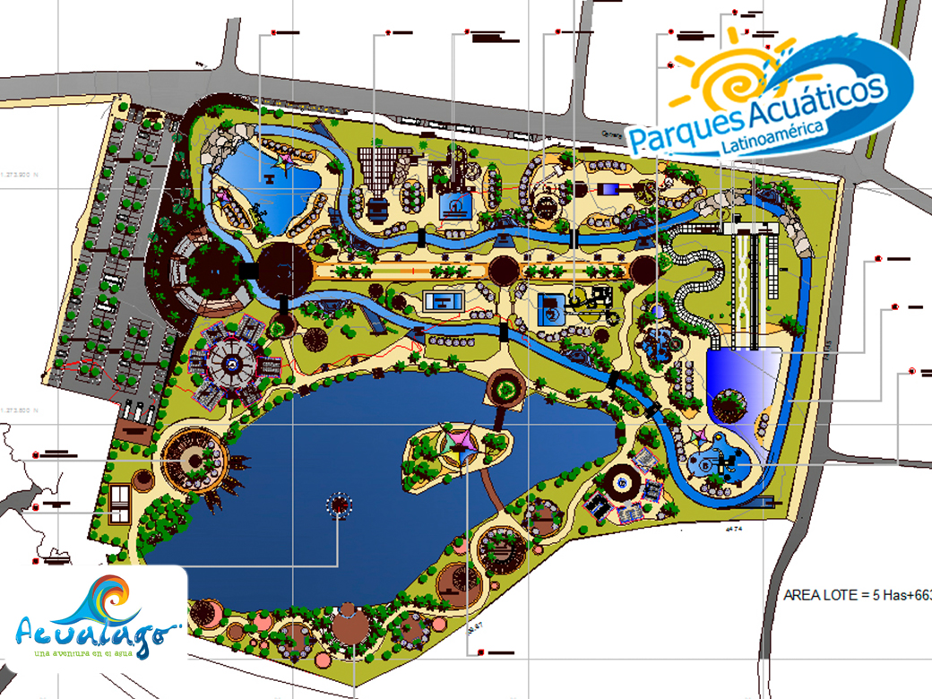 Master plan parques acu ticos de colombia for Presupuesto para construir una piscina en colombia